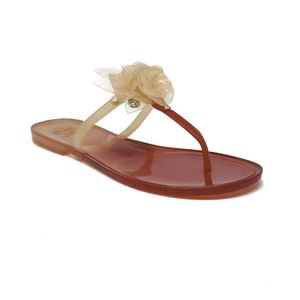 Tory Burch Blossom Jelly Sandal in Nantucket Red